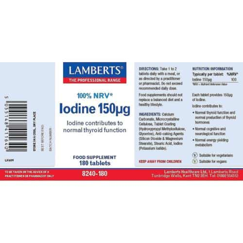 Iodine label